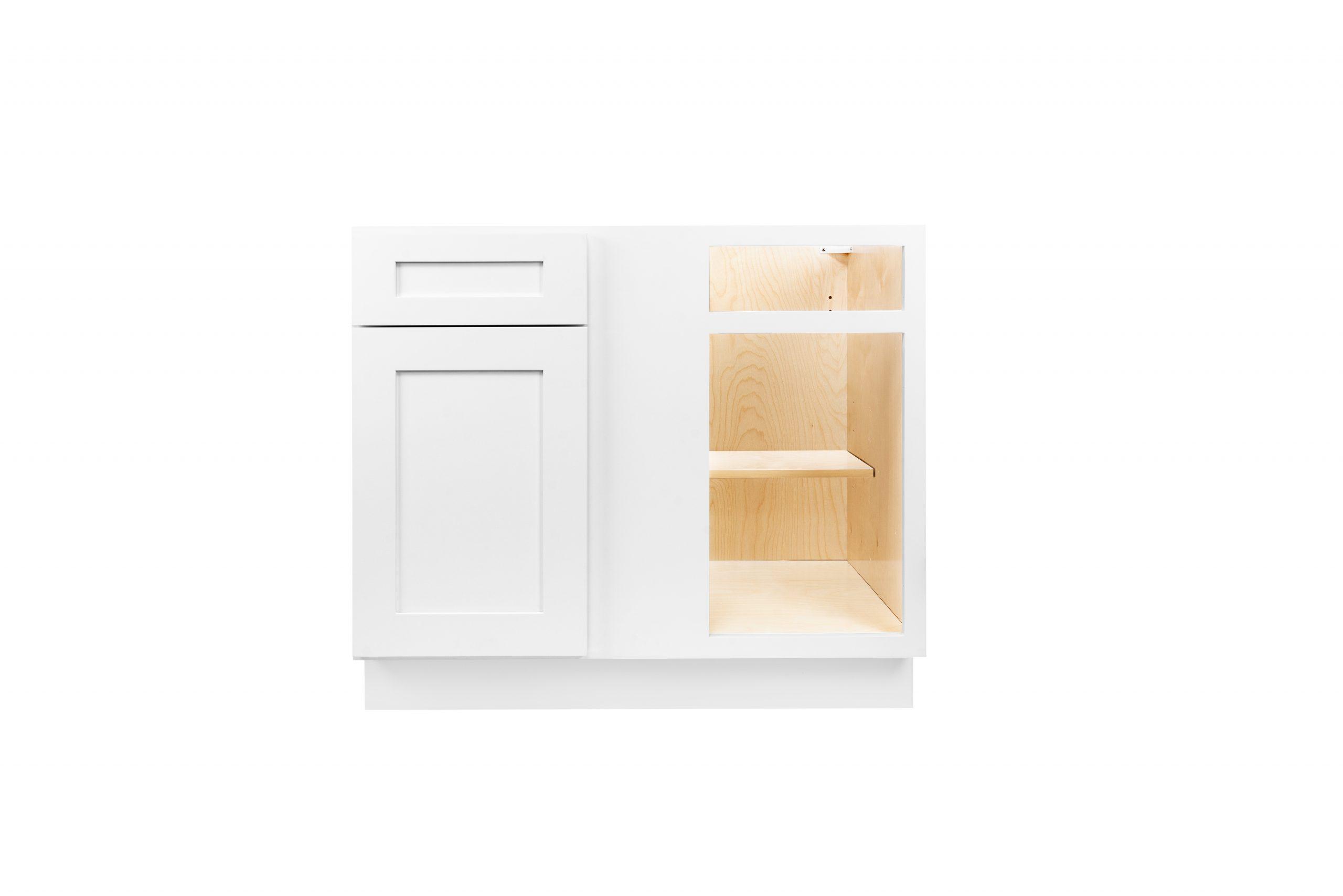 White Shaker Cabinetry BBC36, BBC39, BBC42