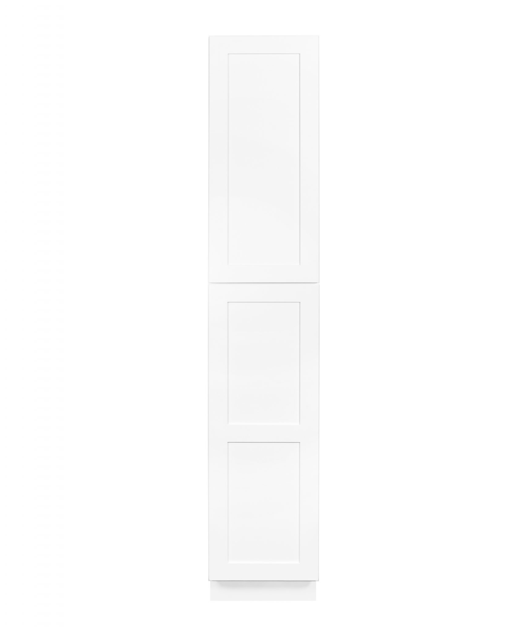 White Shaker Cabinetry P18