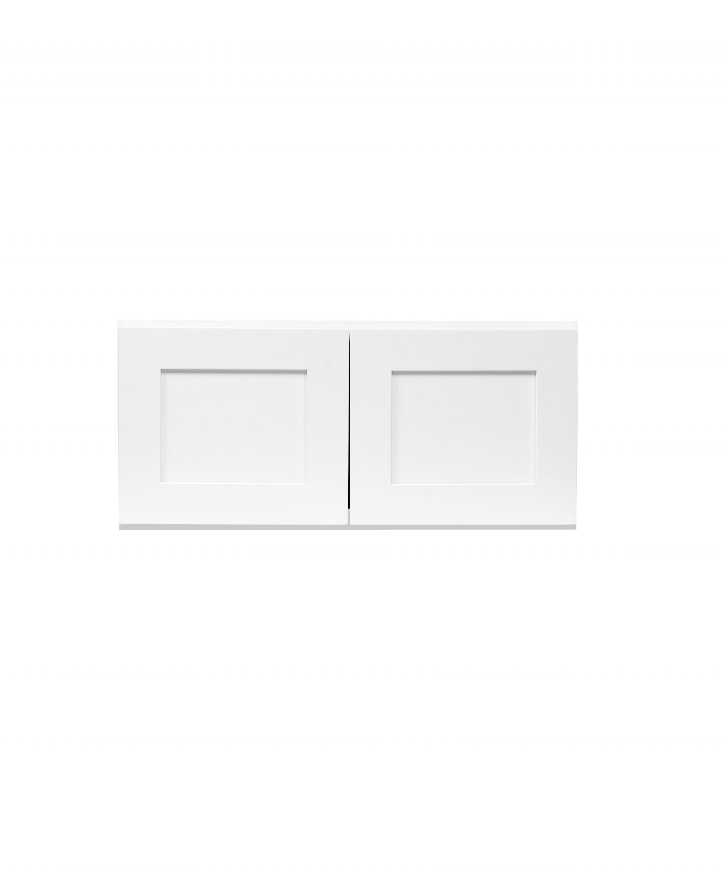 White Shaker Cabinetry W3012 - W3624