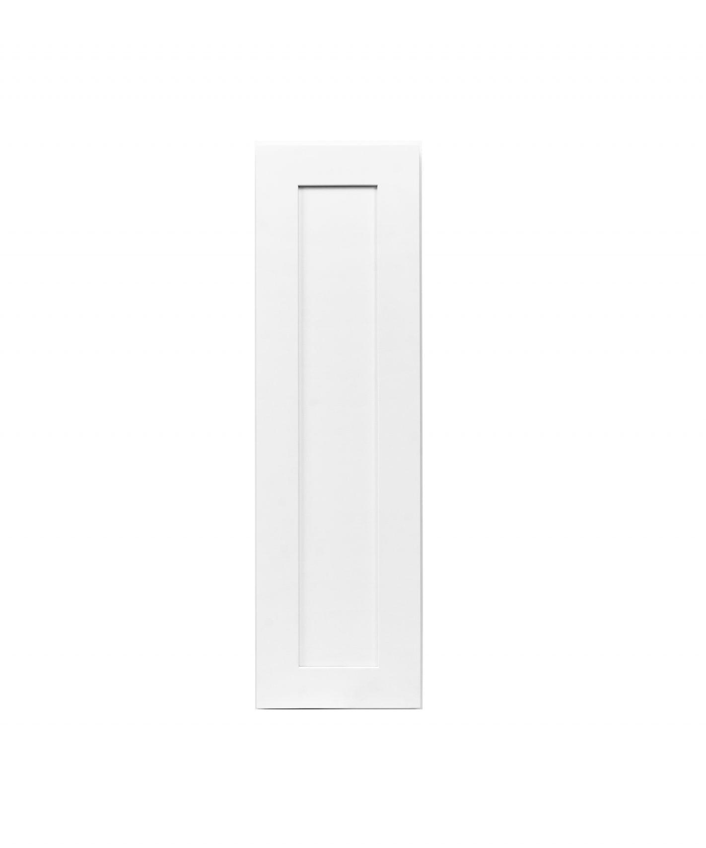 White Shaker Cabinetry W09, W12, W15, W18, W21
