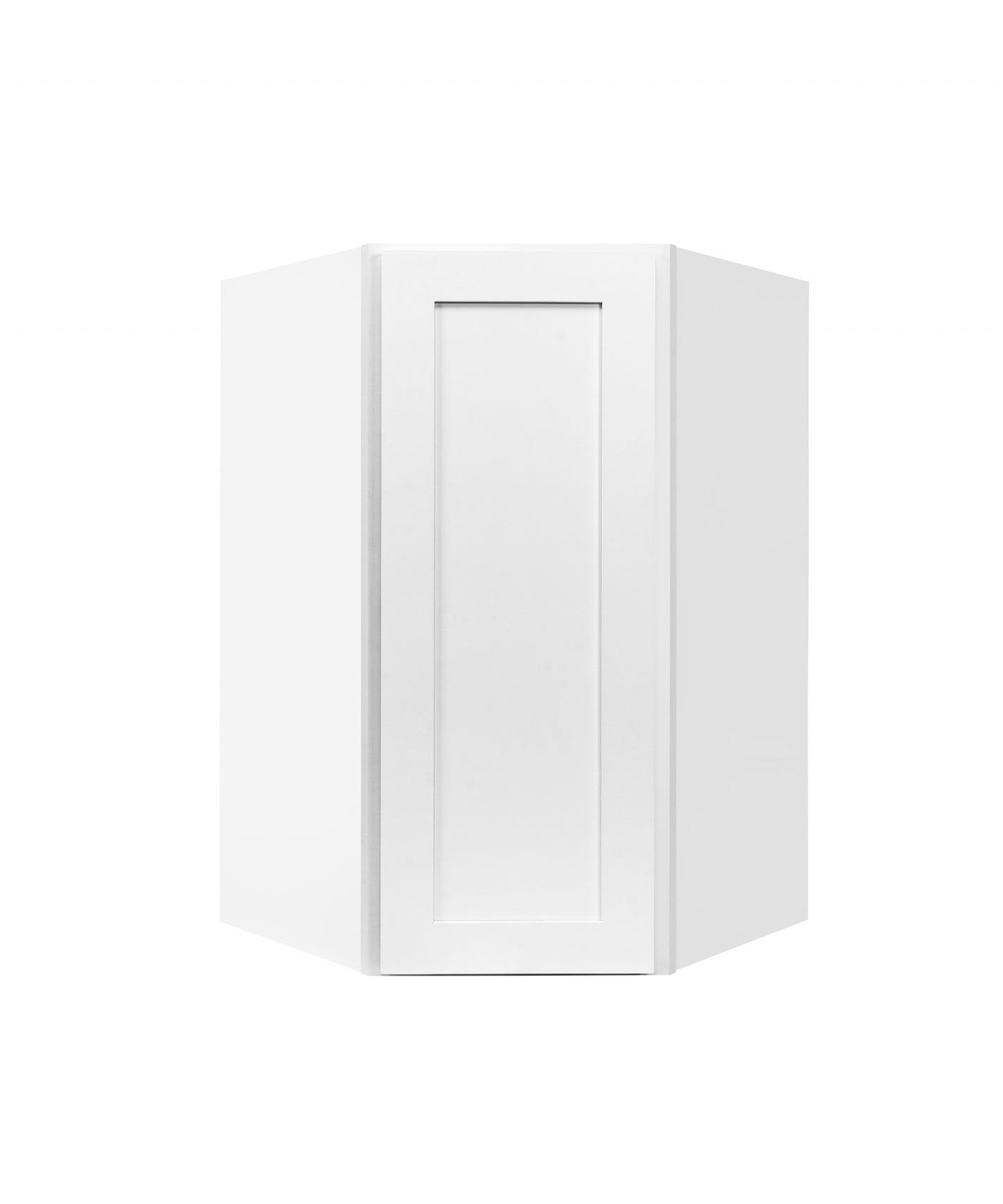 White Shaker Cabinetry WDC24