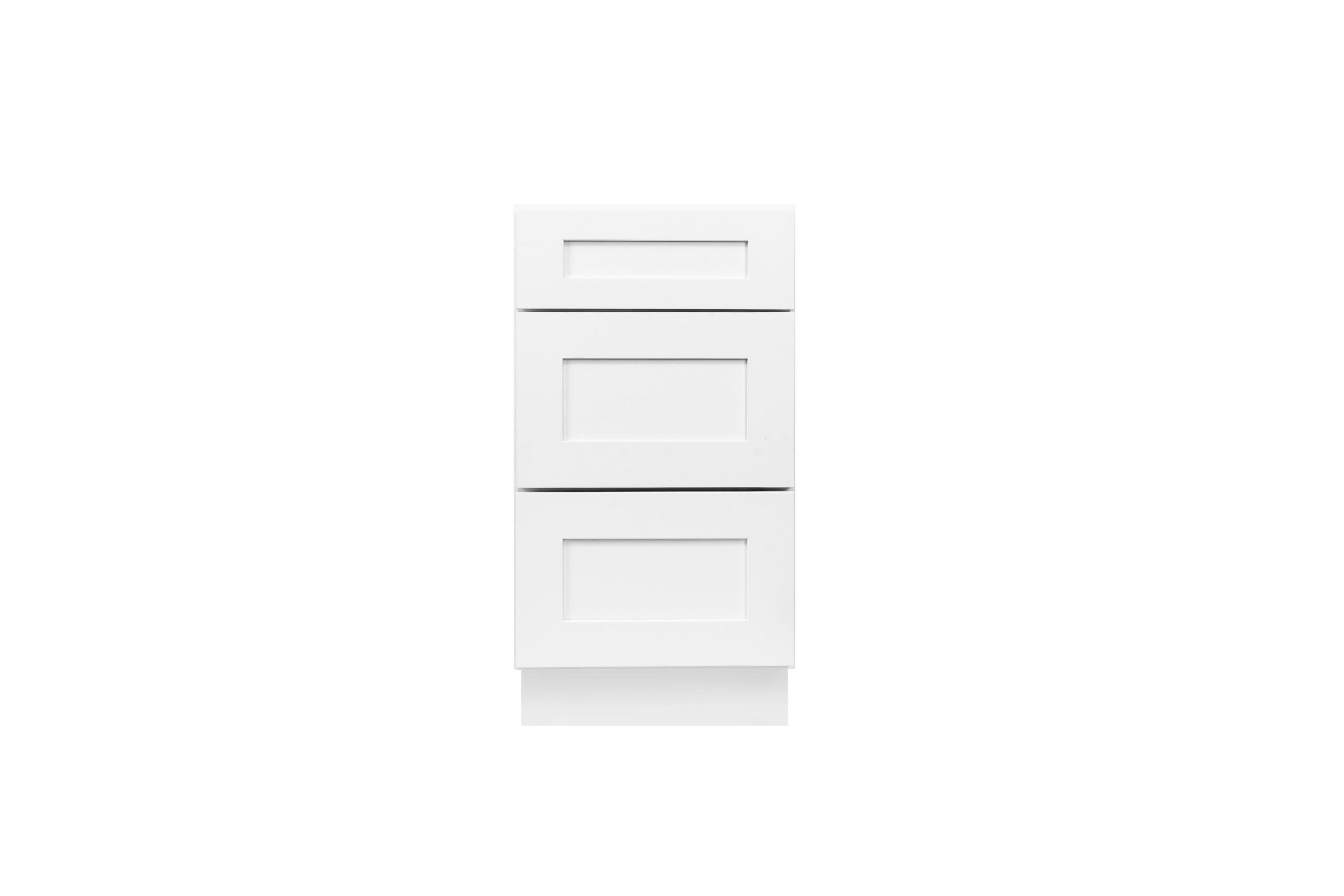 White Shaker Cabinetry DB / VDB