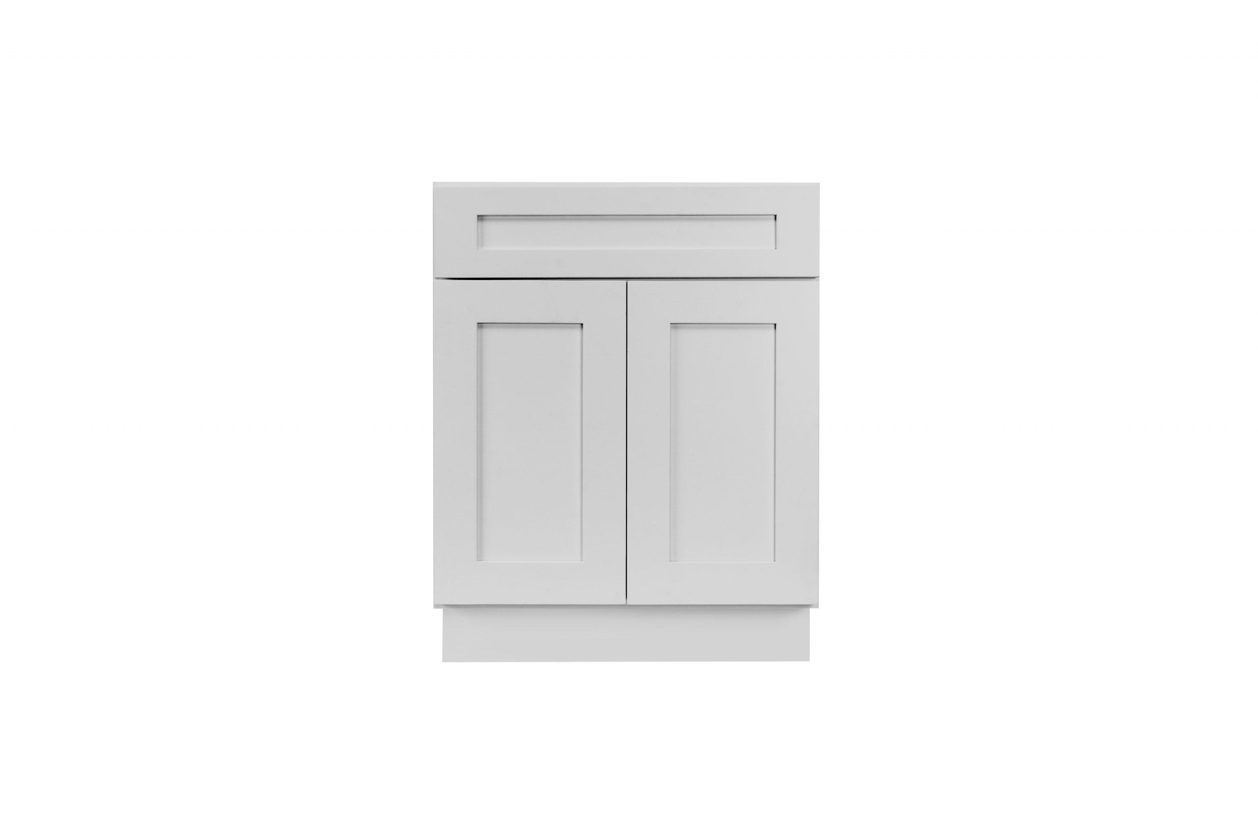 Gray Shaker Cabinetry B24, B27