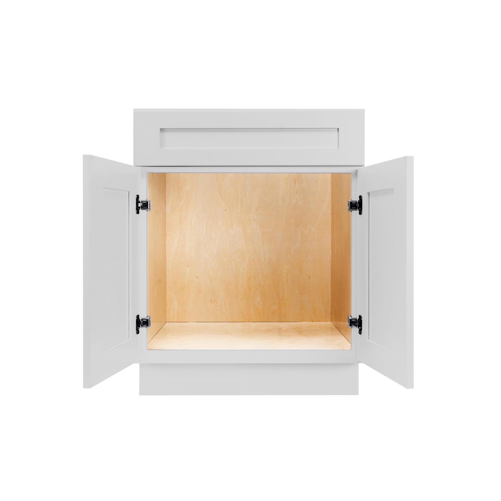 Gray Shaker Cabinetry VA24, VA27, VA30, VA36