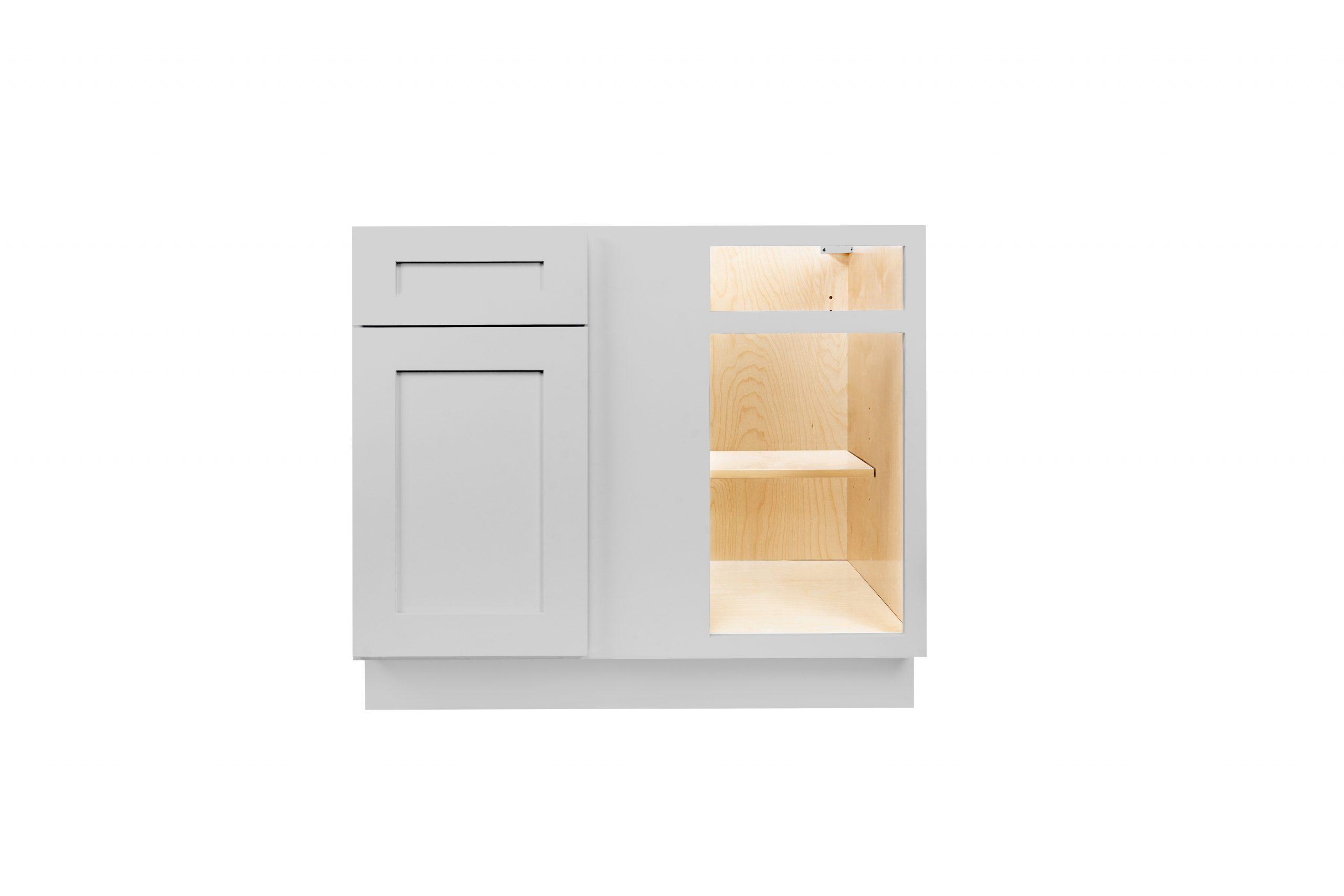 Gray Shaker Cabinetry BBC36, BBC39, BBC42