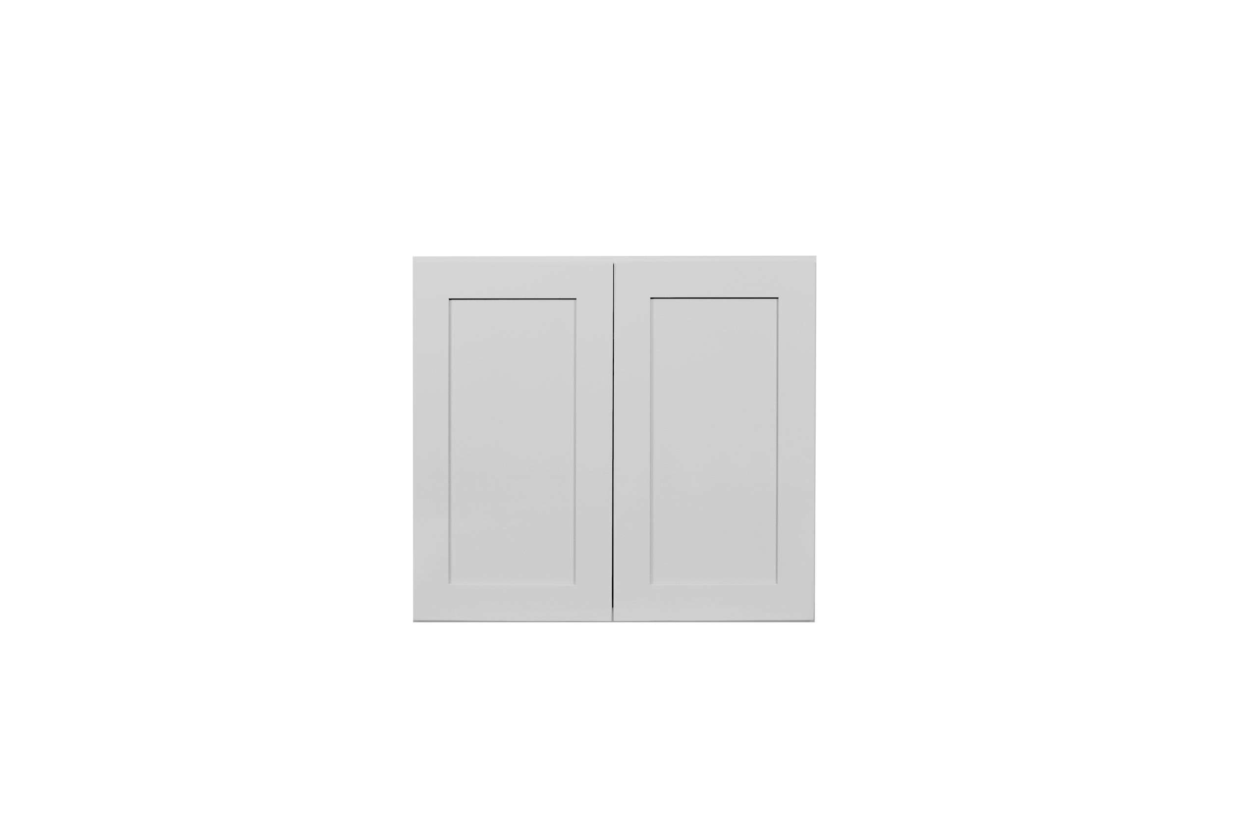 Gray Shaker Cabinetry W3012 - W3624