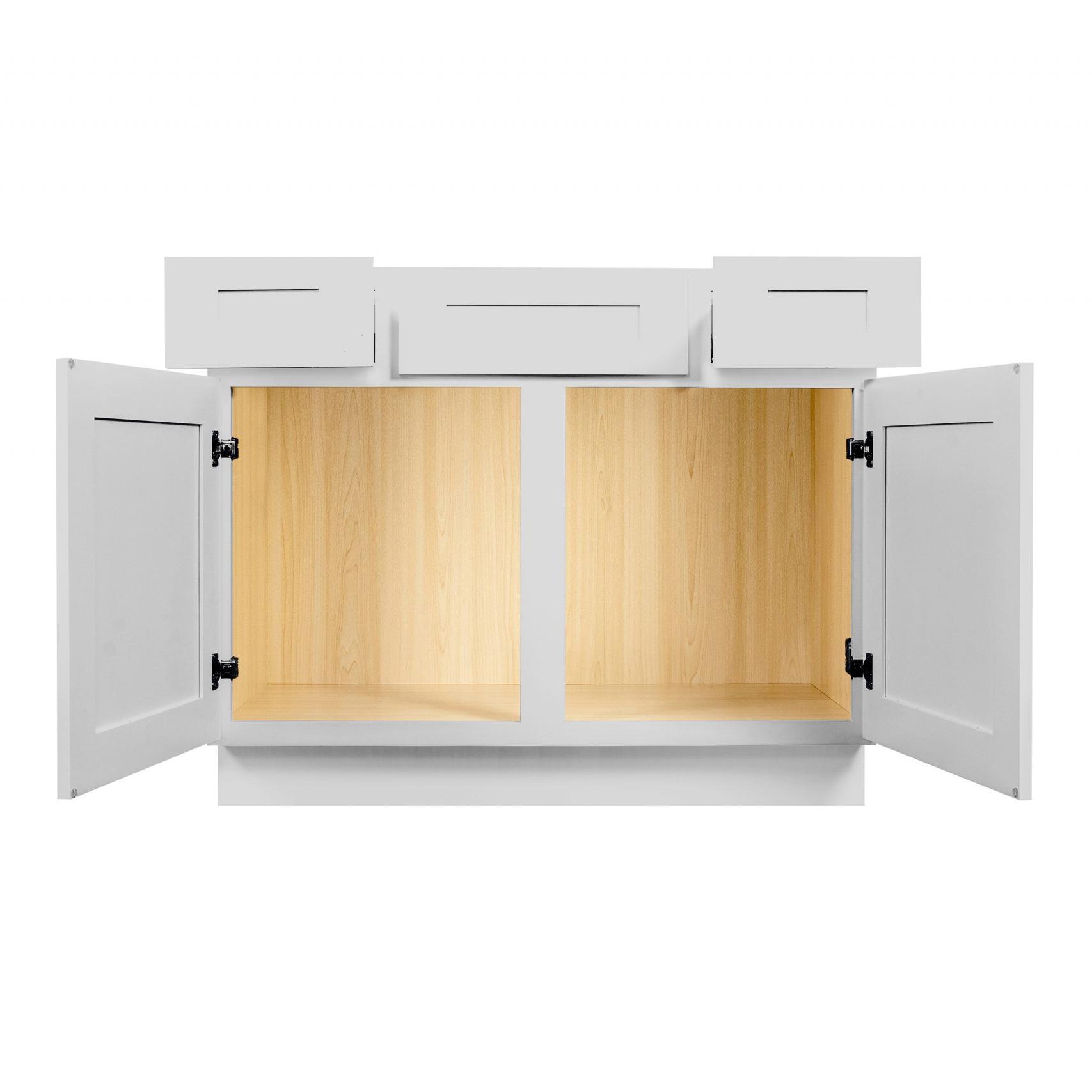 Gray Shaker Cabinetry VA36, VA42, VA48