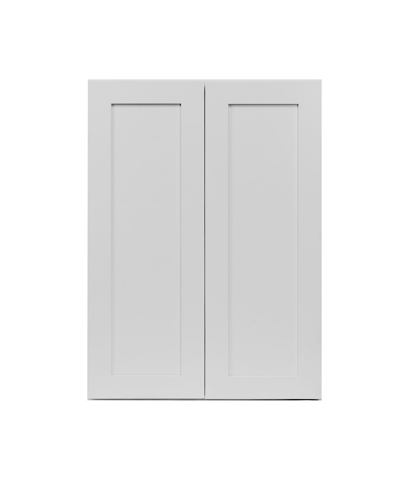 Gray Shaker Cabinetry W24, W27, W30, W33, W36