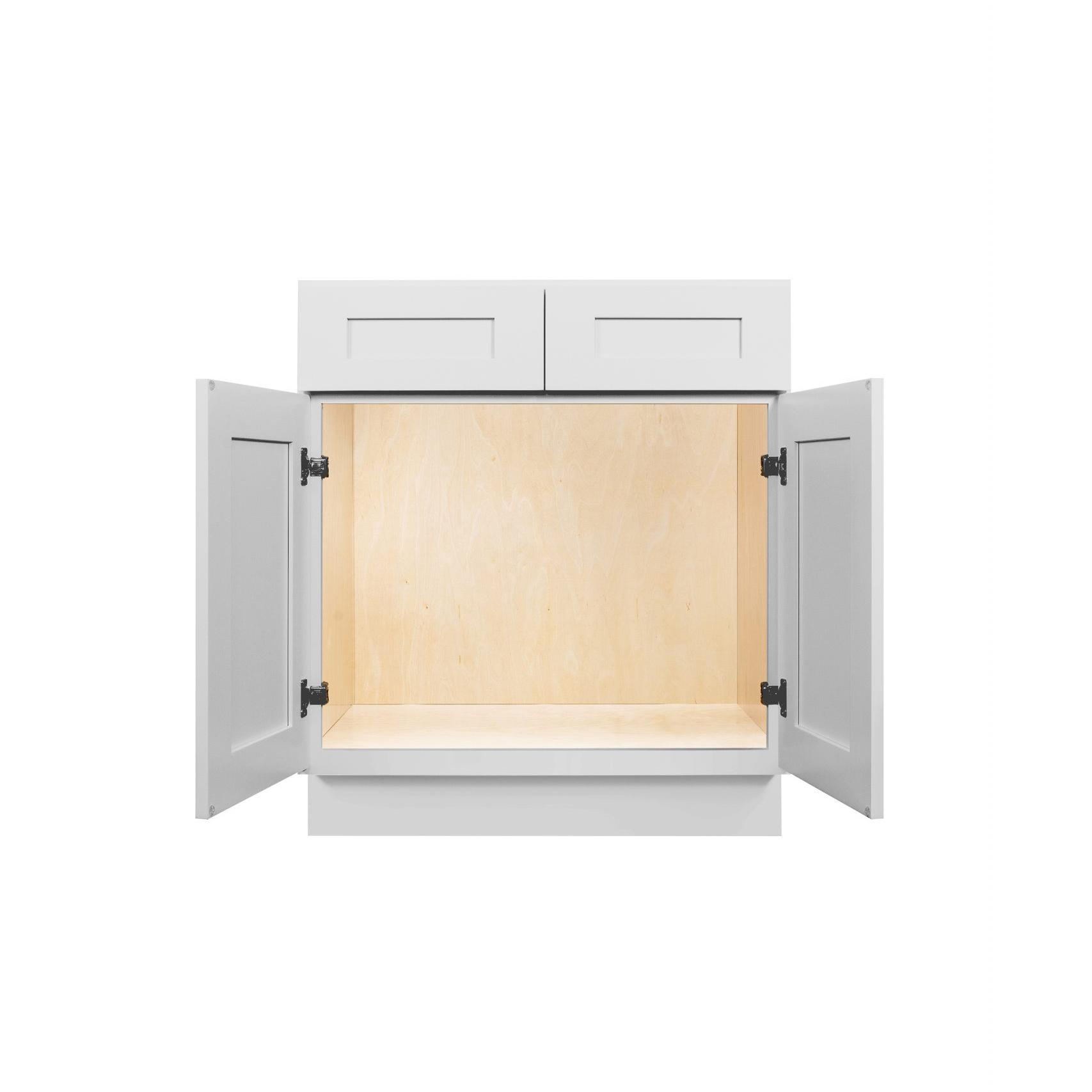 Gray Shaker Cabinetry SB30, SB33, SB36
