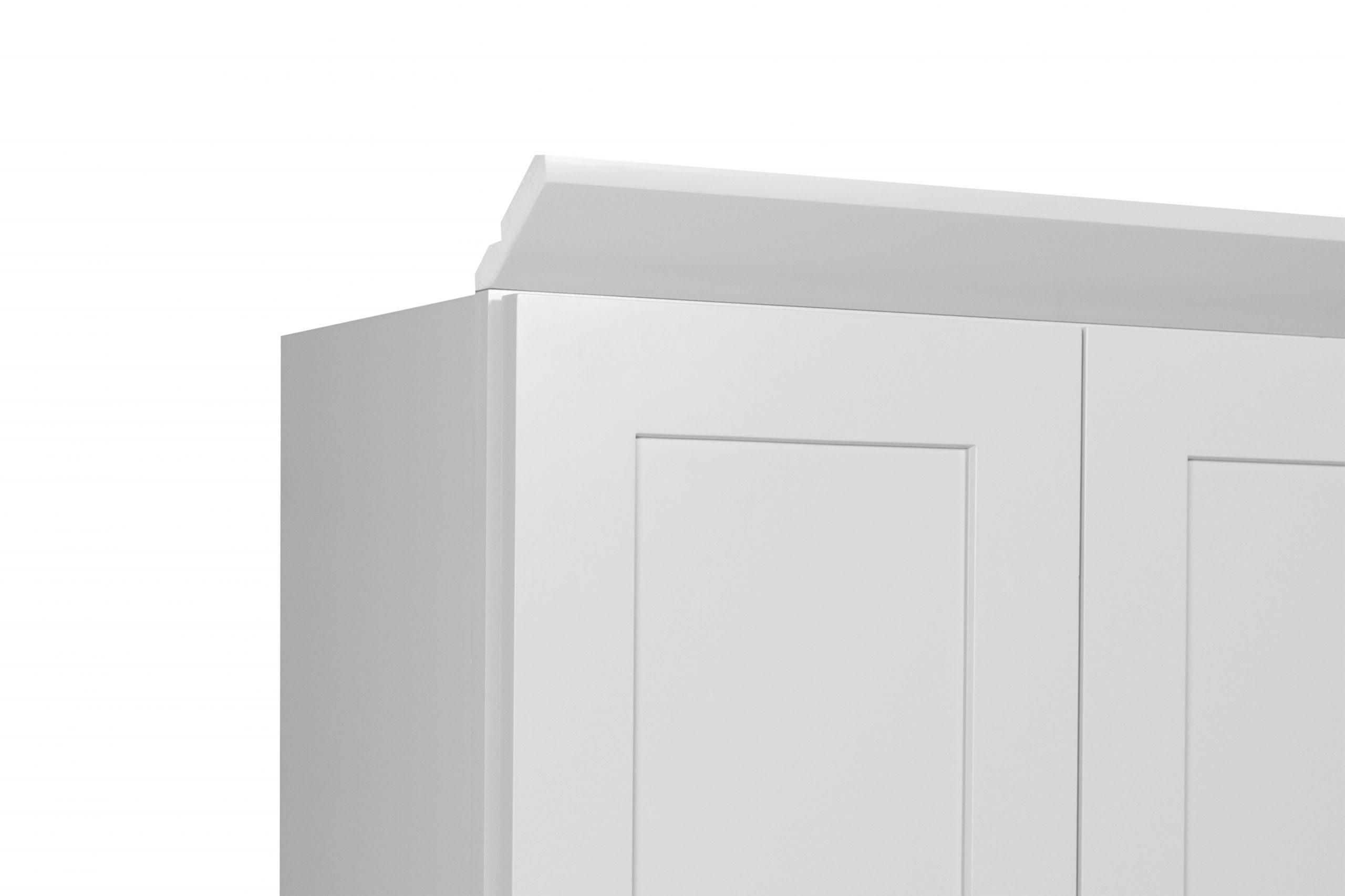 Gray Shaker Cabinetry CM8