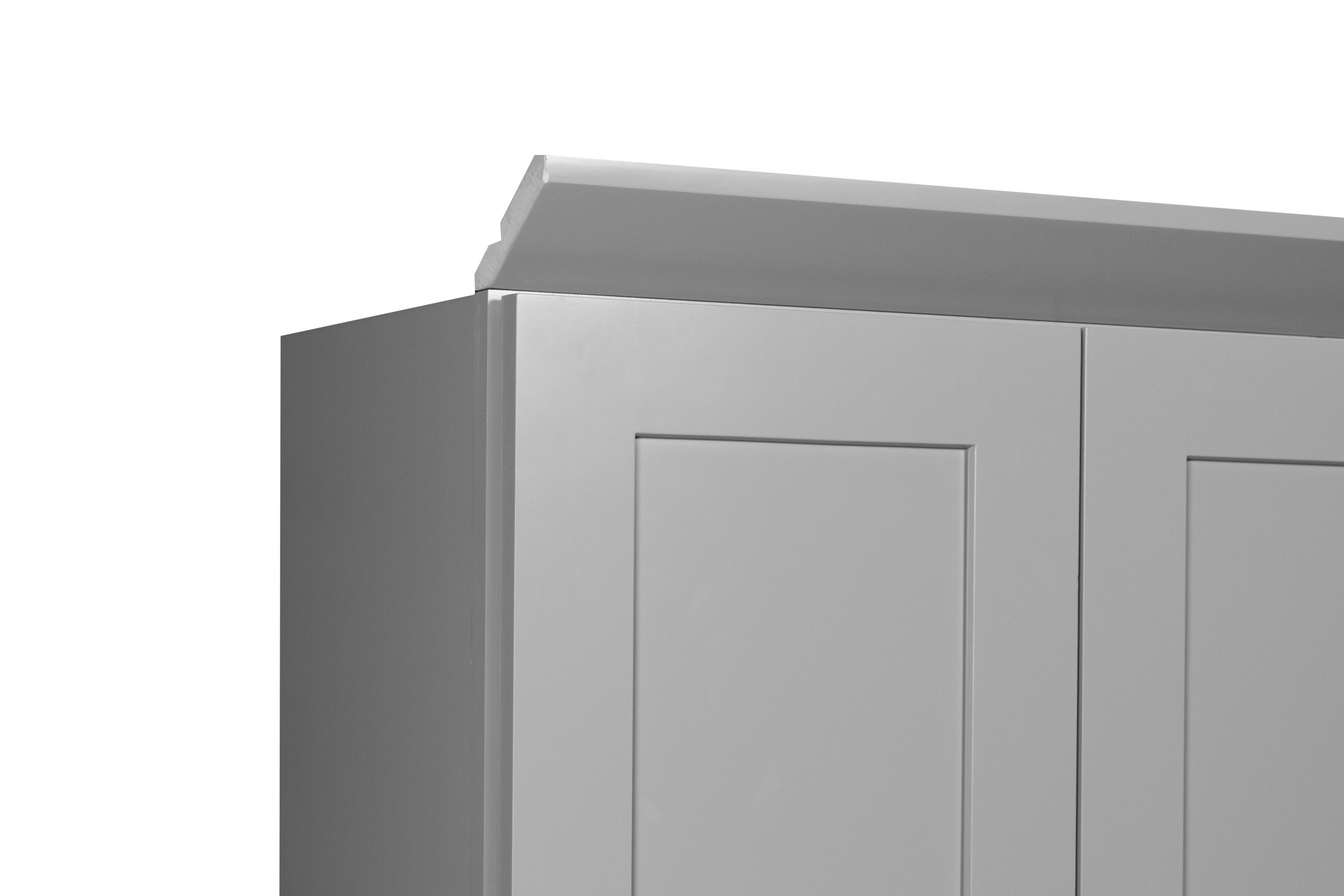 Gray Shaker Crown Moulding Nelson Cabinetry