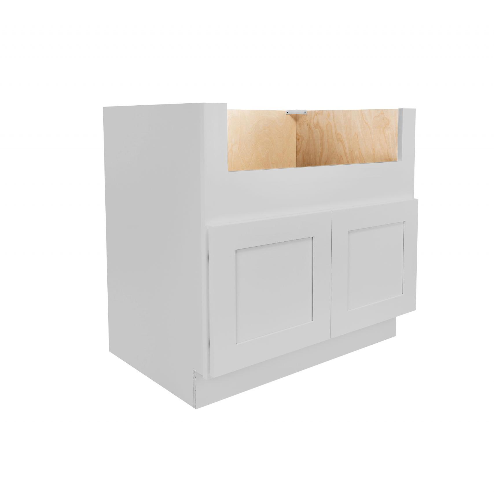 Gray Shaker Cabinetry FSB36