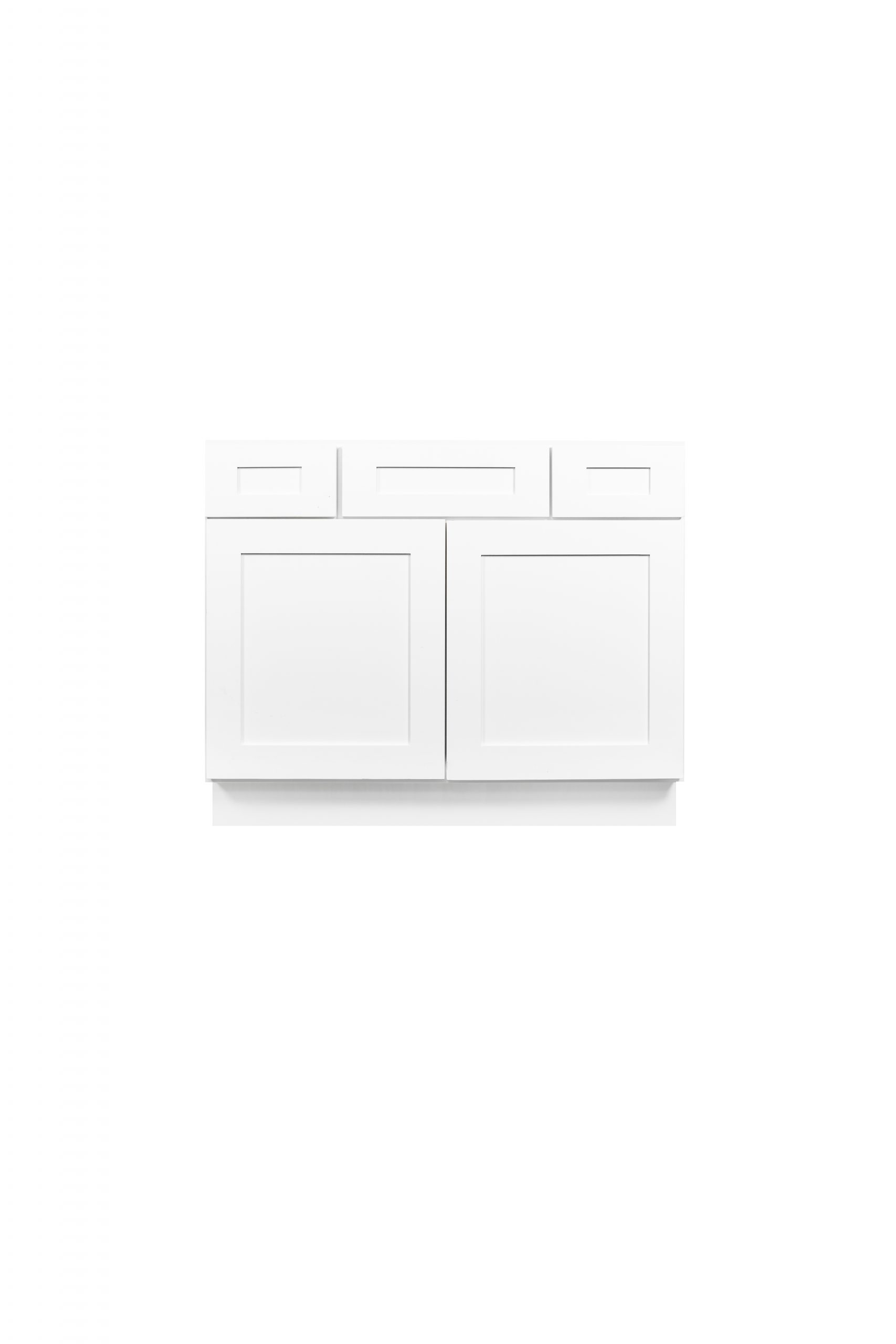 White Shaker Cabinetry VA36, VA42, VA48