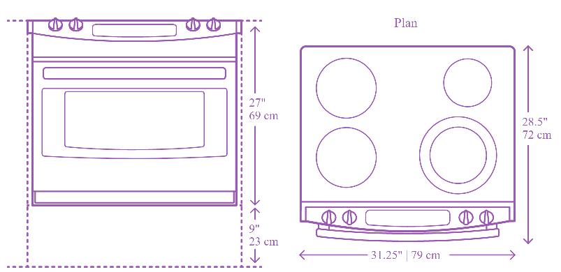 Standard Oven Measurements
