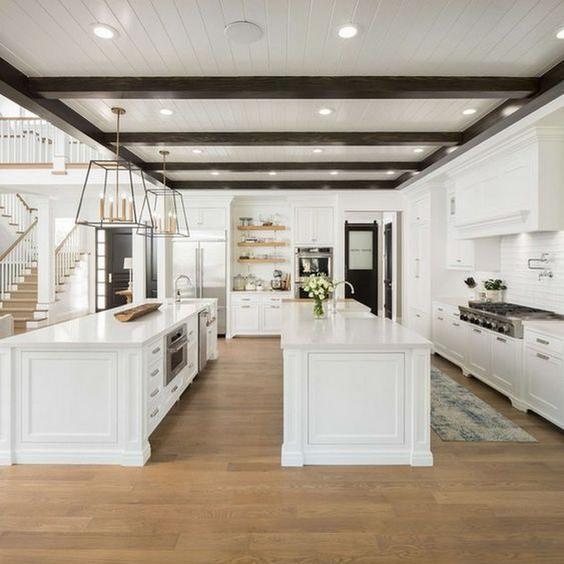 two island kitchen layout