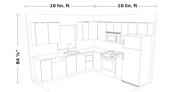 10x19 kitchen