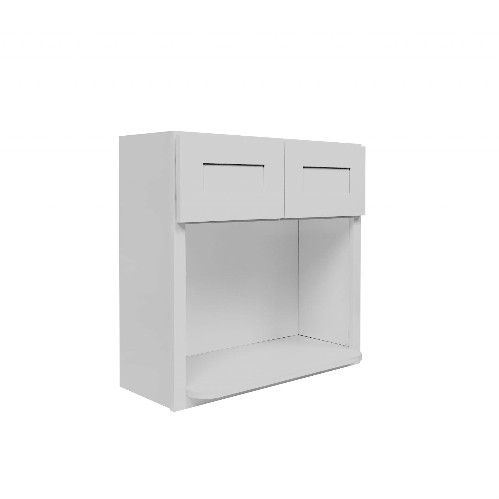 Gray Shaker Cabinetry WMC3030, WMC3036, WMC3042