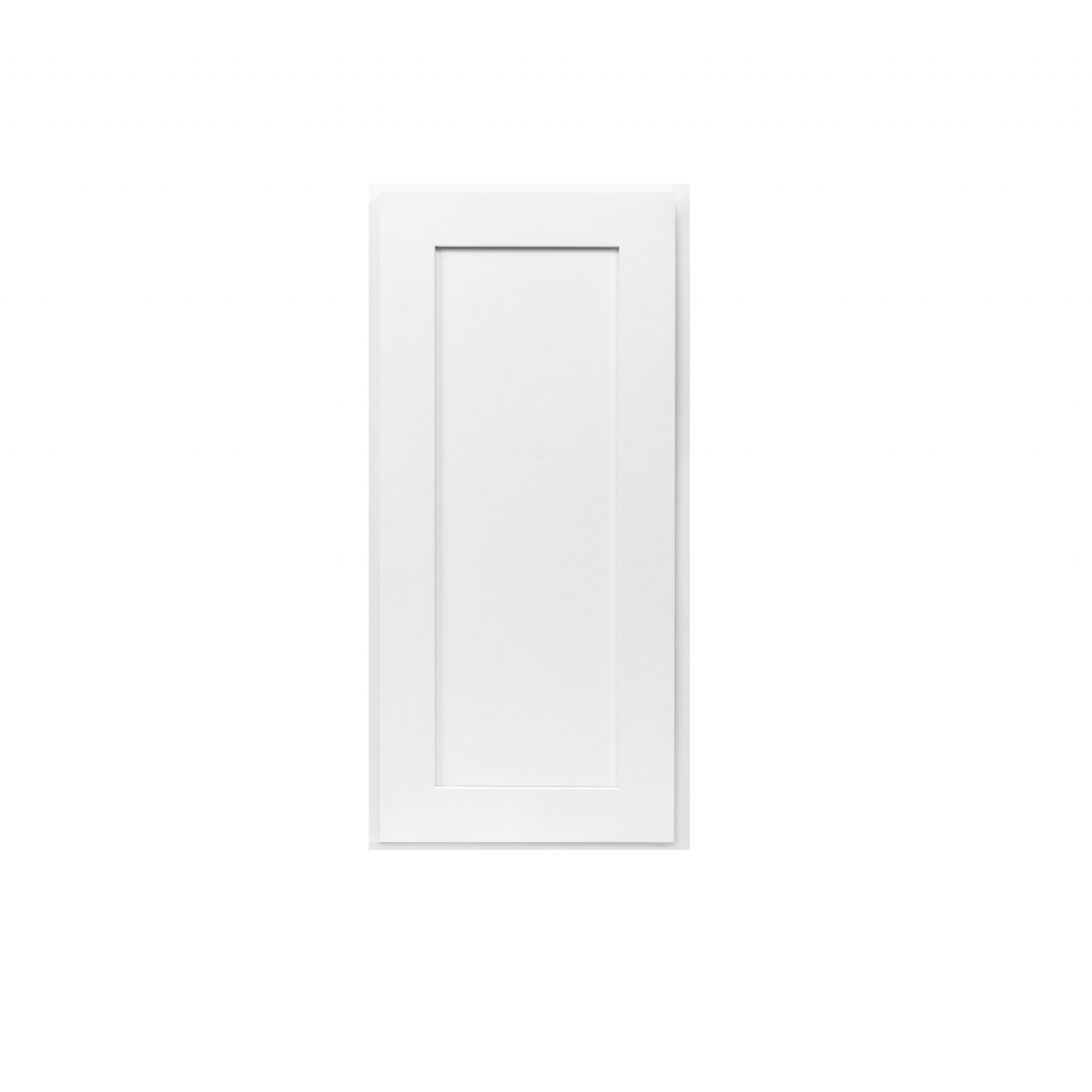 White Shaker Cabinetry AW12