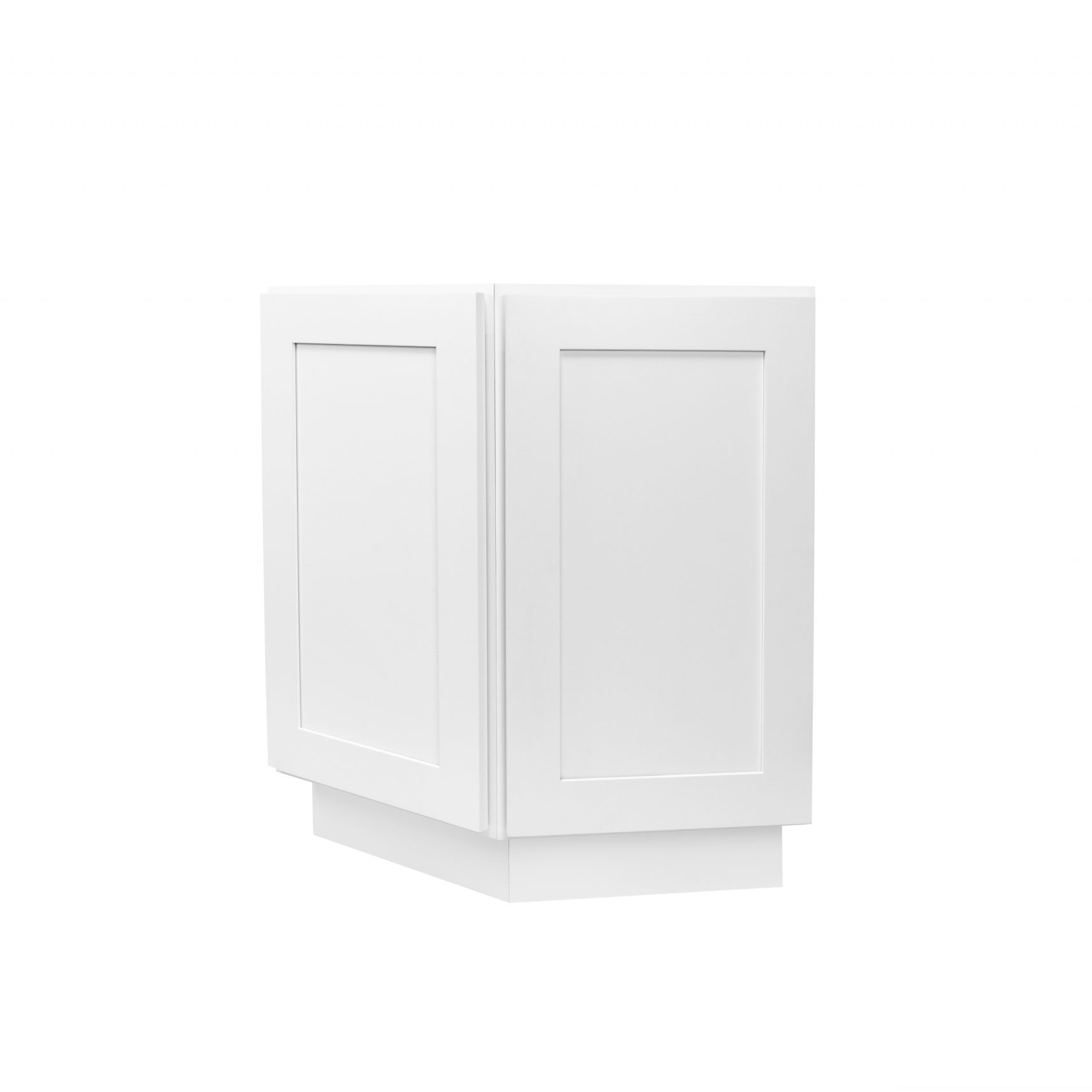 White Shaker Cabinetry BEA24